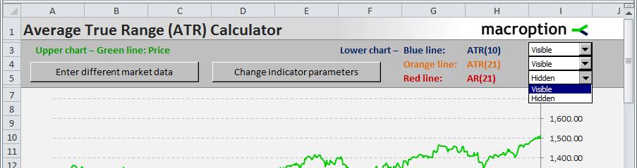 ATR Calculator